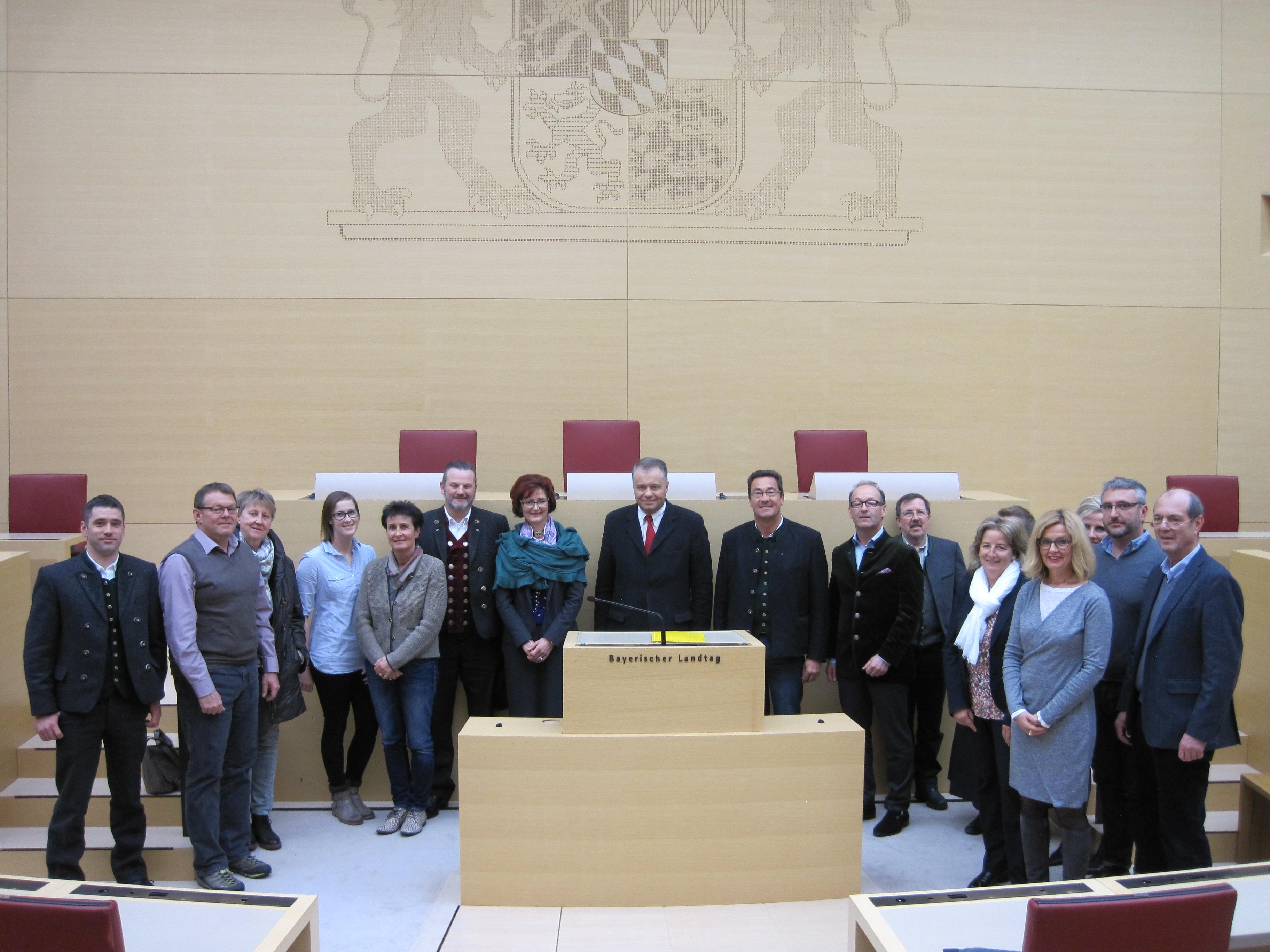 23.11.2016, Besuch der Kreishandwerkerschaft Oberland