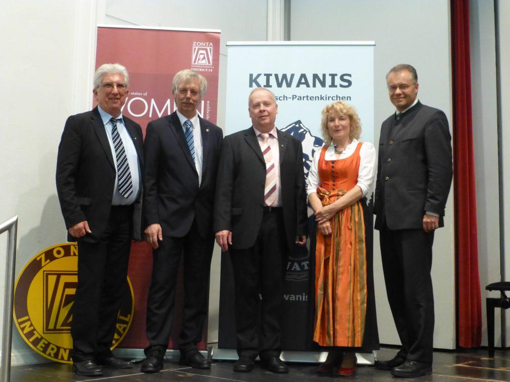 Frühlingskonzert mit Kiwanis und Zonta am 11. April 2016
