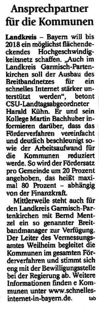 Garmisch-Partenkirchner Tagblatt 3.02.2014