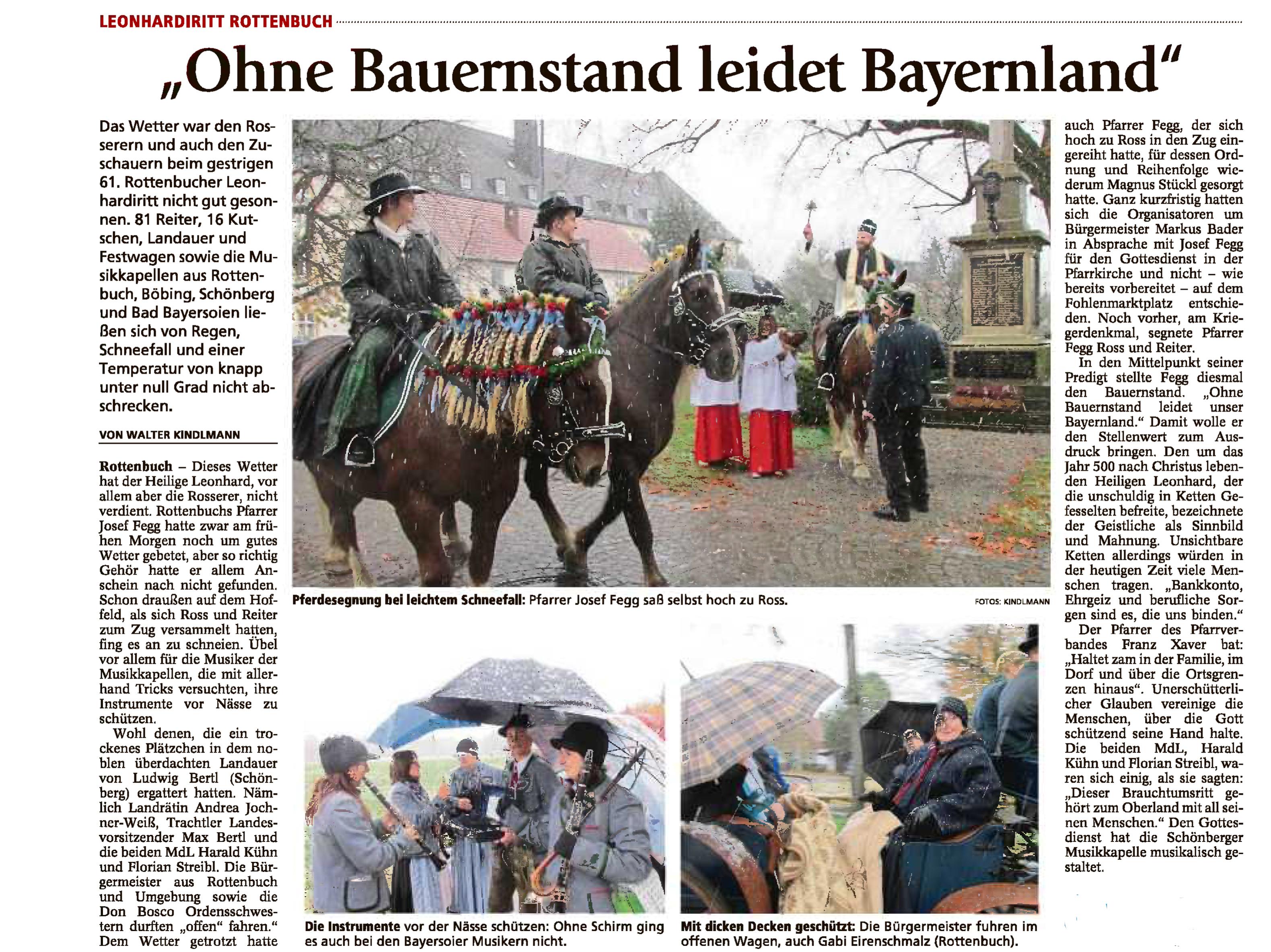 Schongauer Tagblatt 7.11.2016