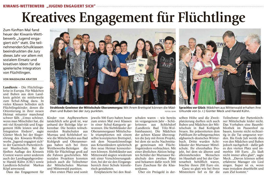 Garmisch-Partenkirchner Tagblatt, 8.06.2016