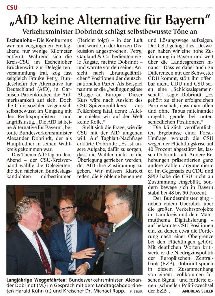 Garmisch-Partenkirchner Tagblatt, 13.06.2016