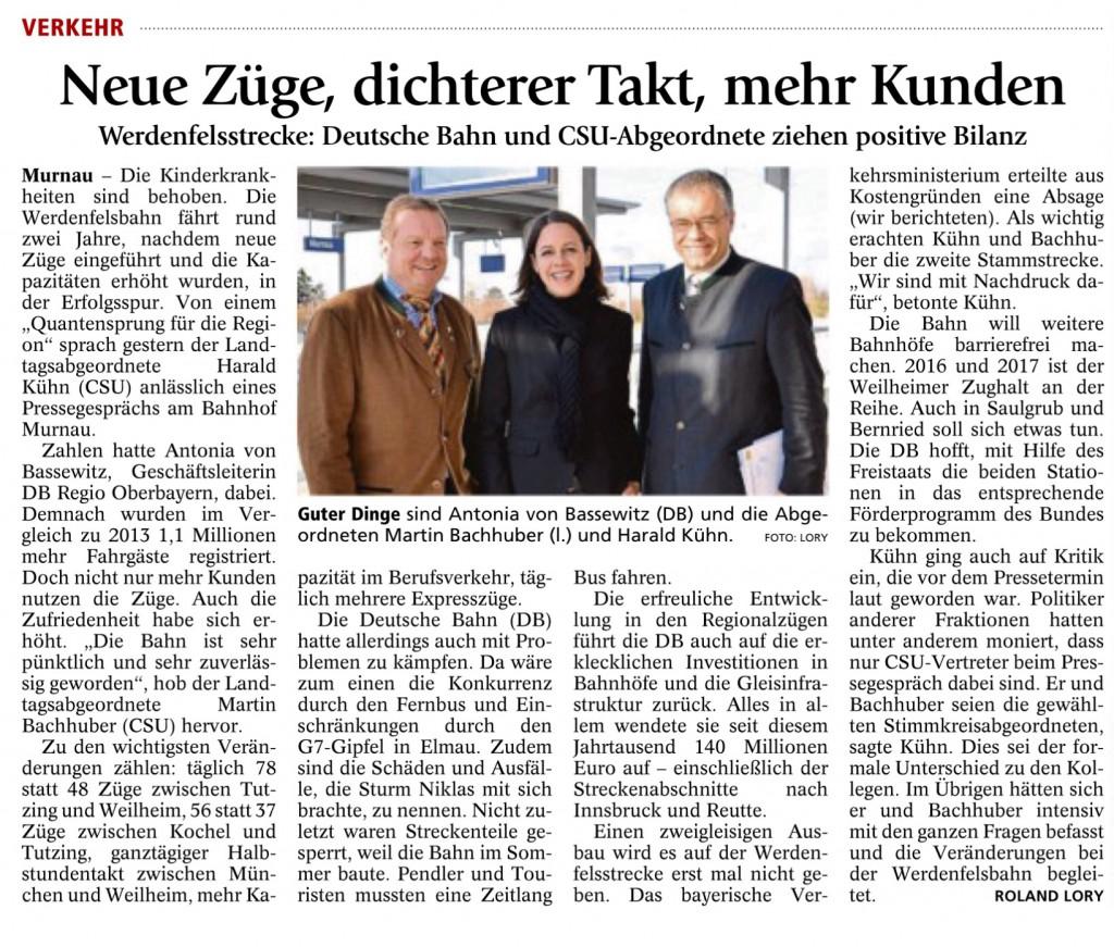 Garmisch-Partenkirchner Tagblatt 24.11.2015