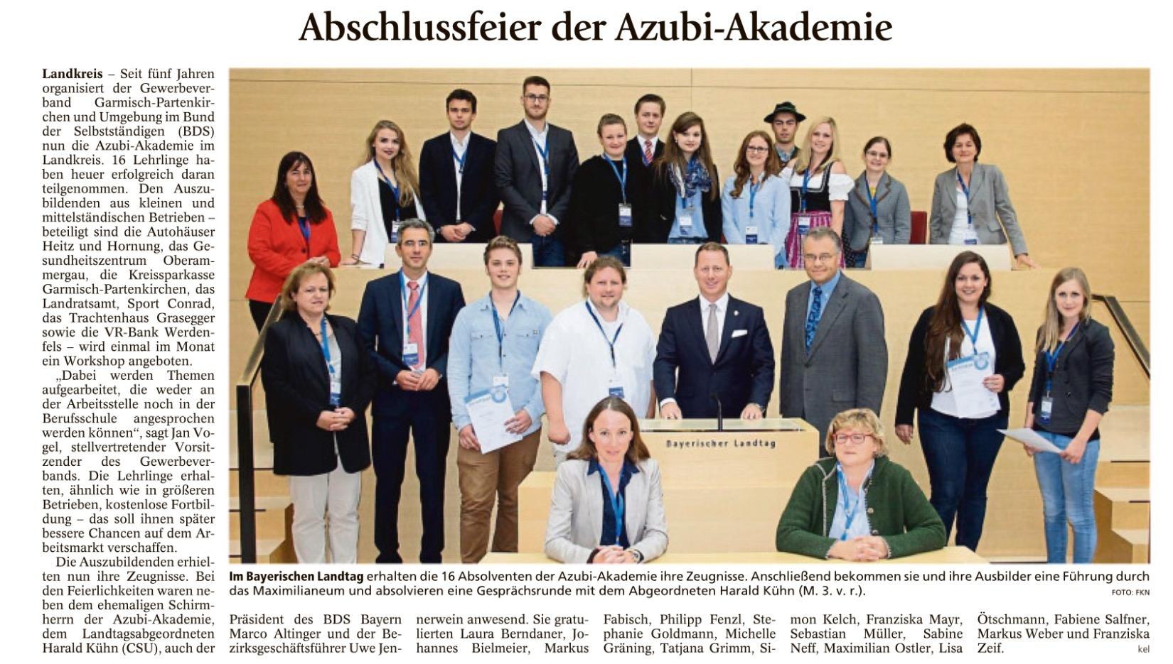 Garmisch-Partenkirchner Tagblatt 9.08.2016