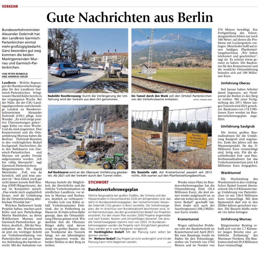 Garmisch-Partenkirchner Tagblatt 17.03.2016