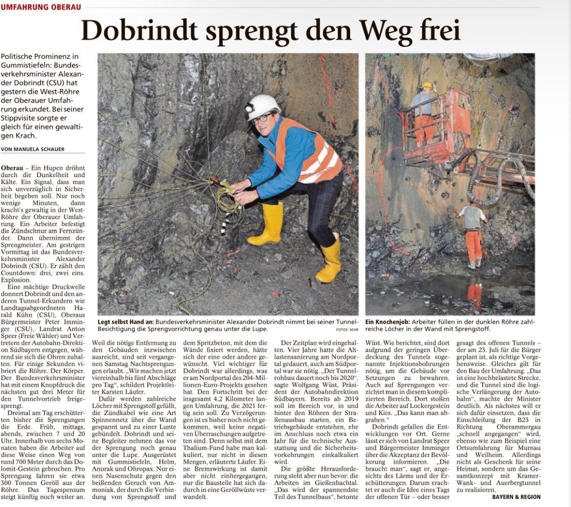 Garmisch-Partenkirchner Tagblatt, 5. Juli 2016