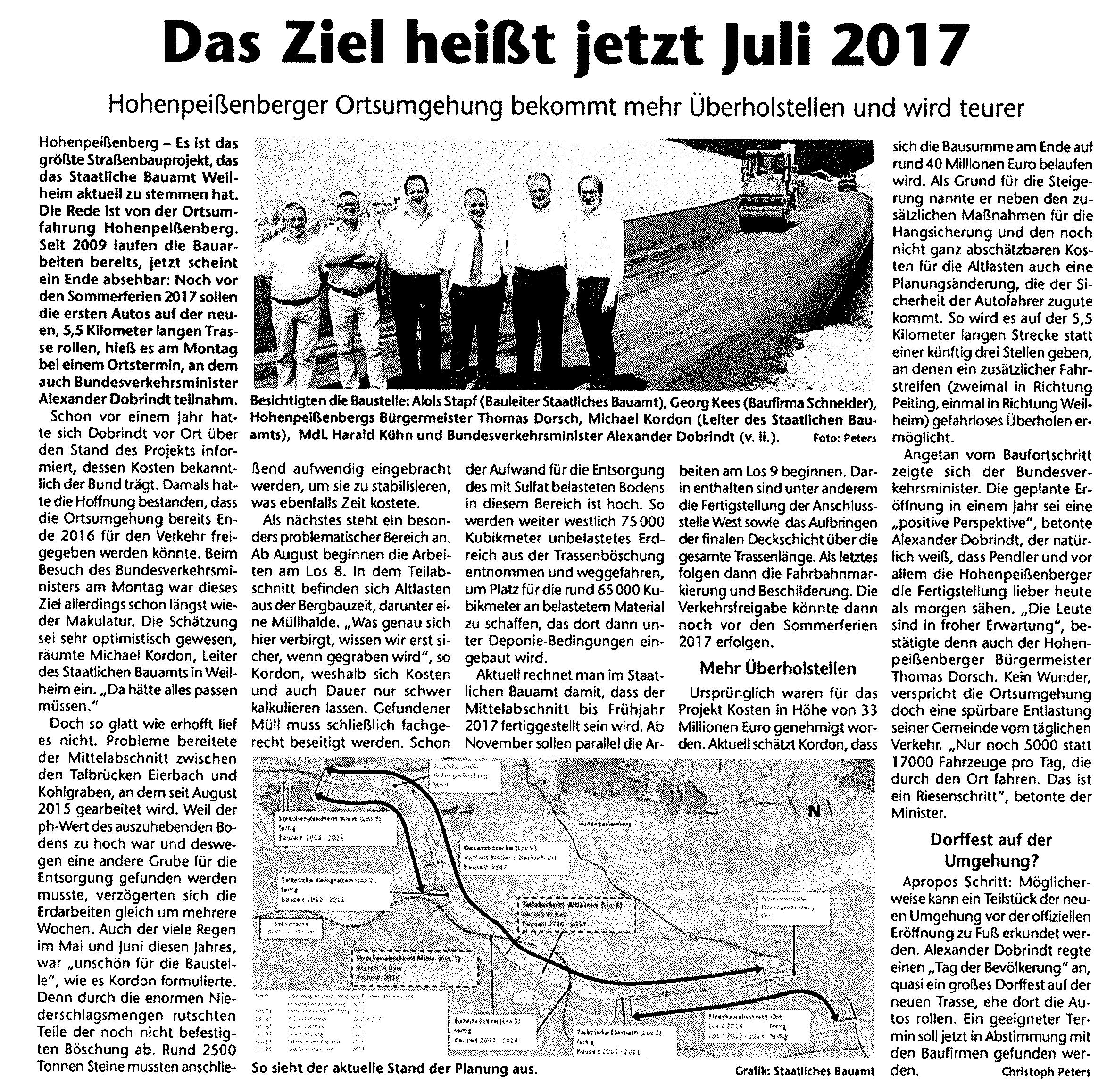 Schongauer Kreisbote 13.07.2016