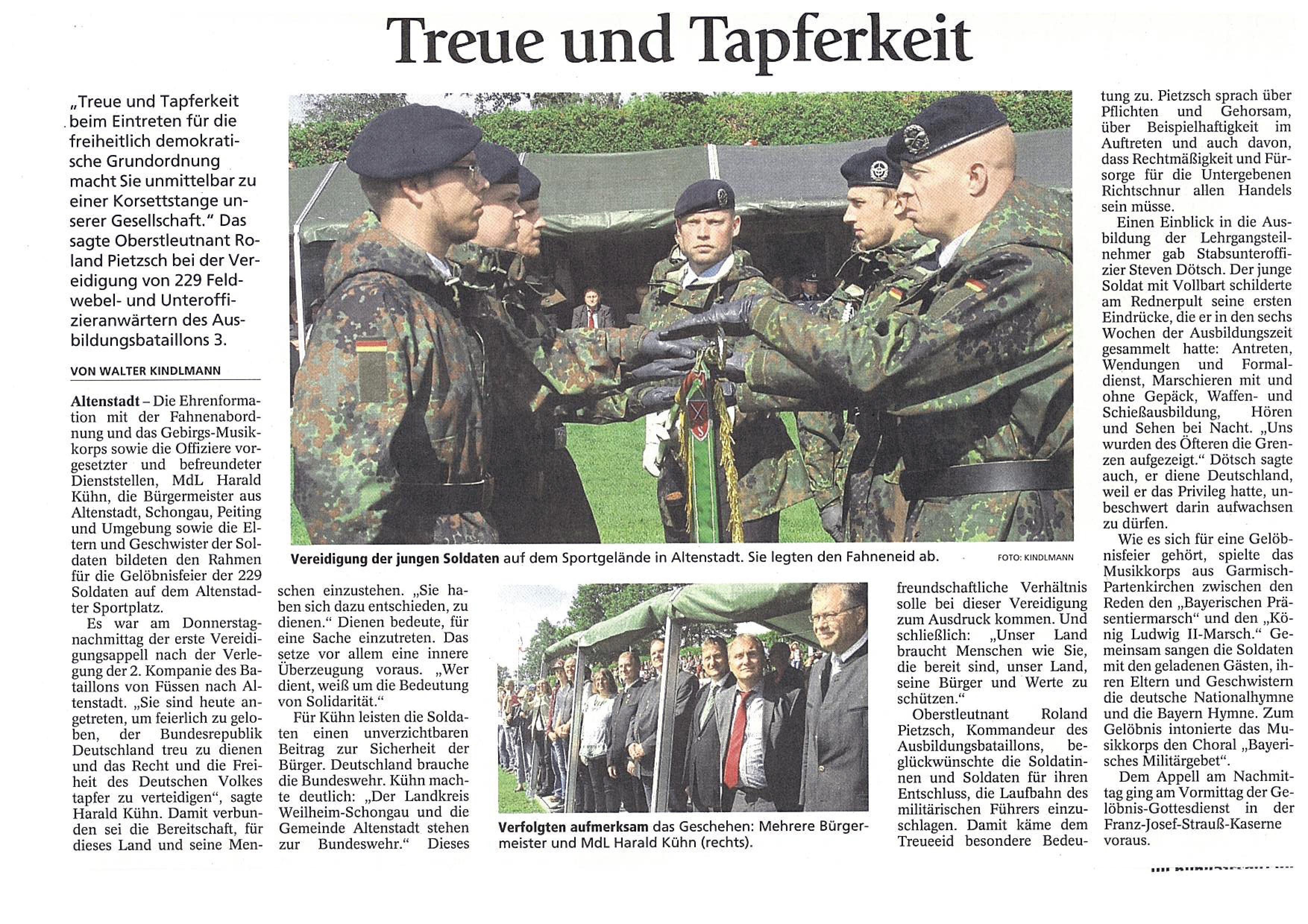 Schongauer Nachrichten 13.08.2016