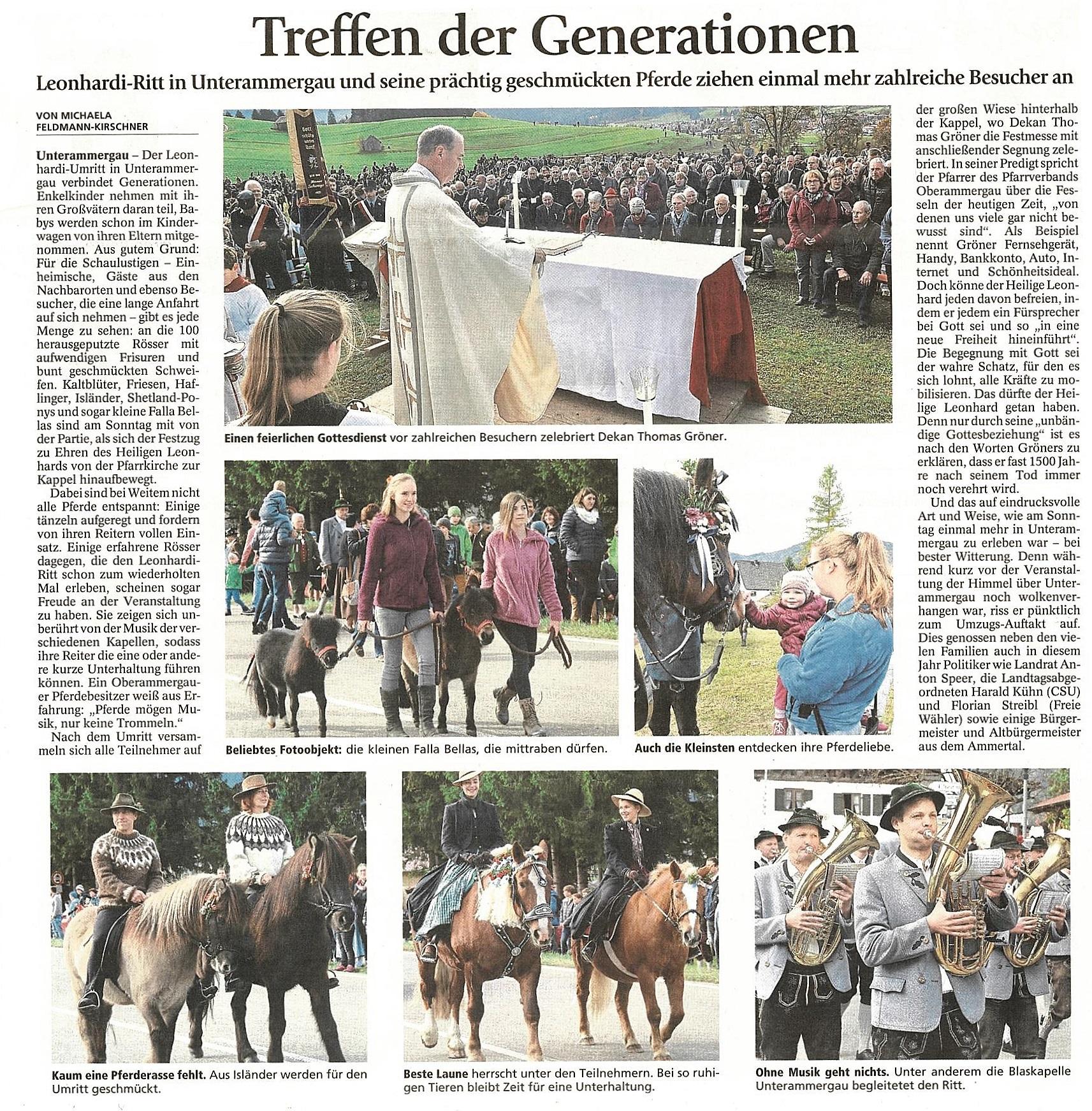 Schongauer Nachrichten 31.10.2016