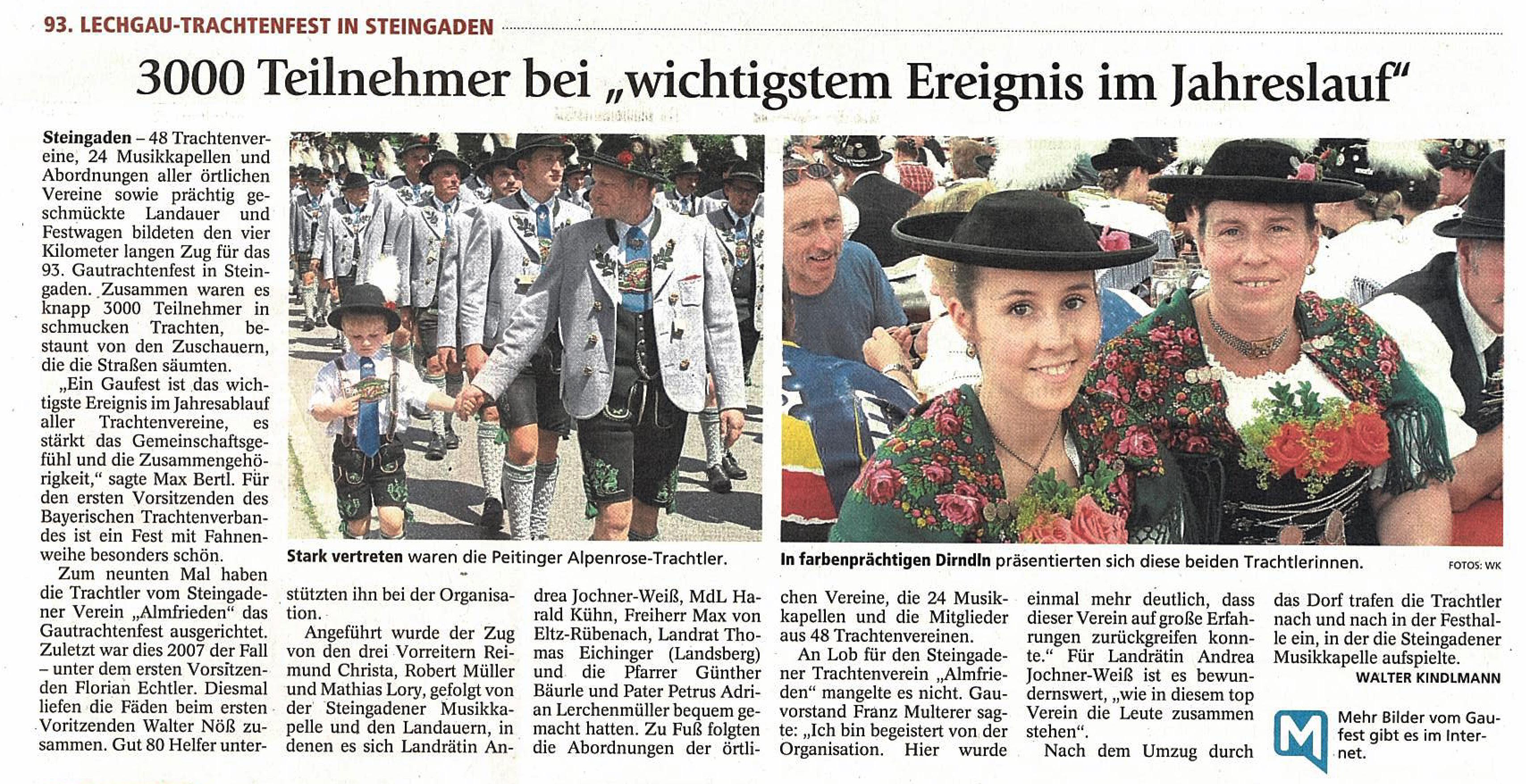 Weilheimer Tagblatt, 18.0.7.2016