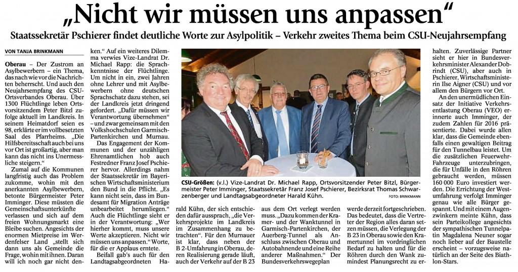 Garmisch-Partenkirchner Tagblatt, 19.01.2016