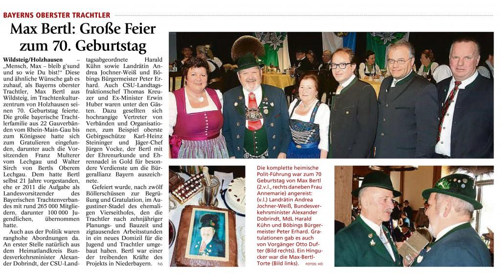 Schongauer Tagblatt, 9.03.2016