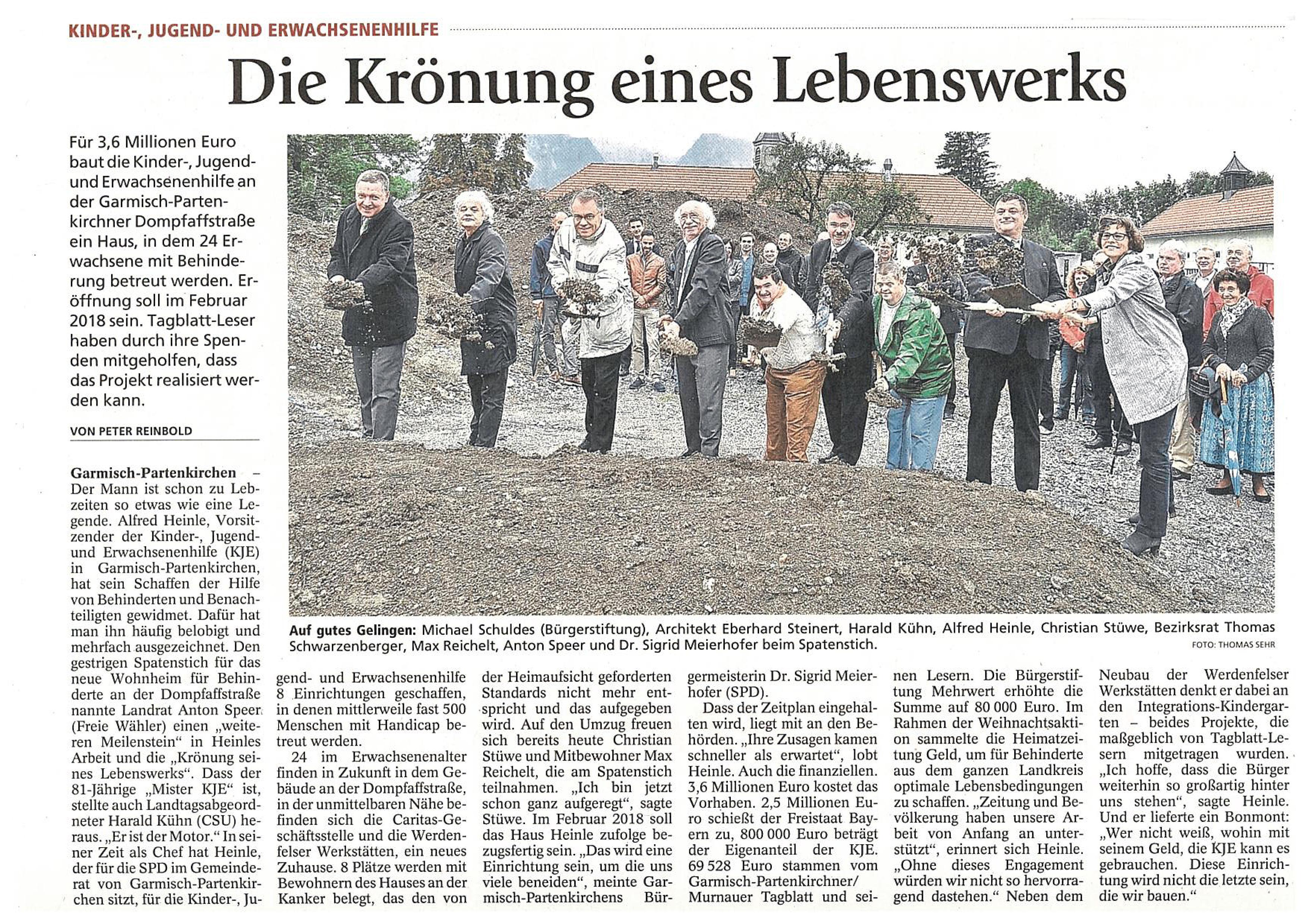 Garmisch-Partenkirchner Tagblatt 20.09.2016
