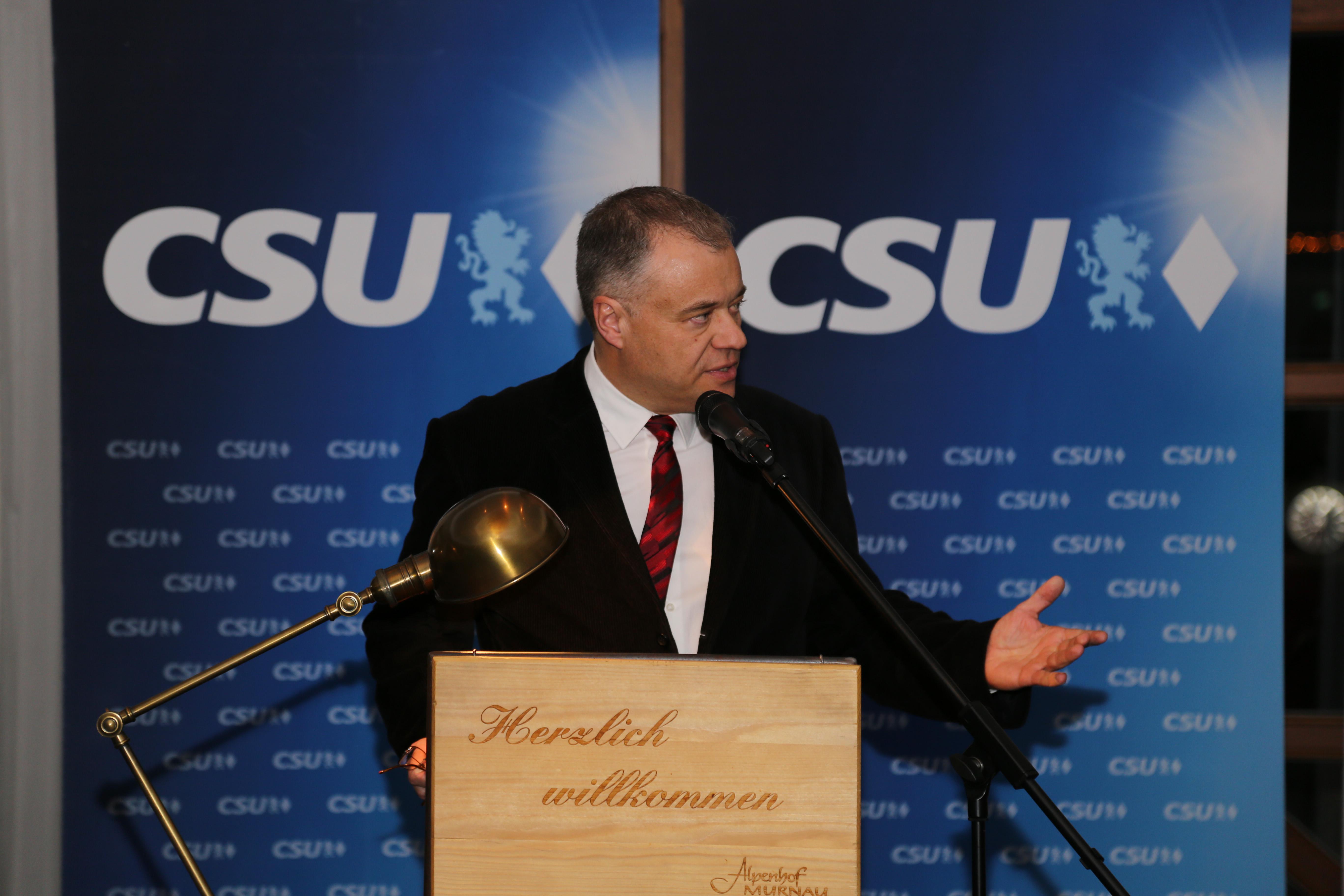 CSU Neujahrsempfang in Murnau,