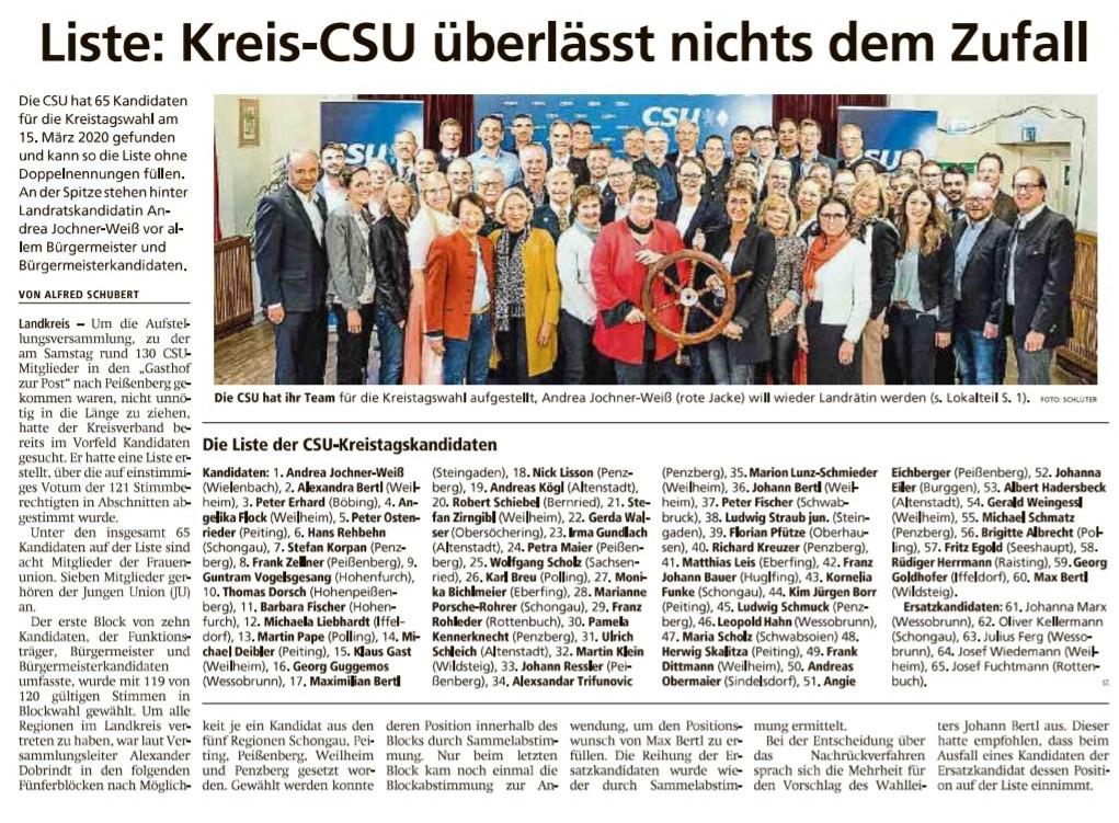 Weilheimer Tagblatt, 18.11.2918